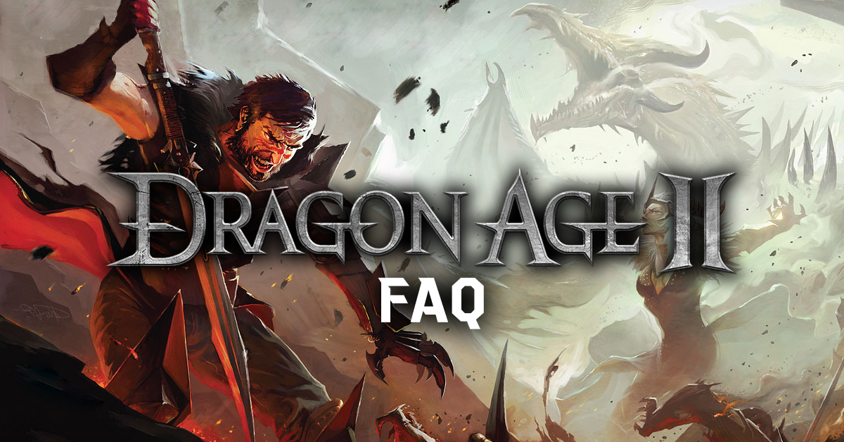 Dragon Age II - FAQ
